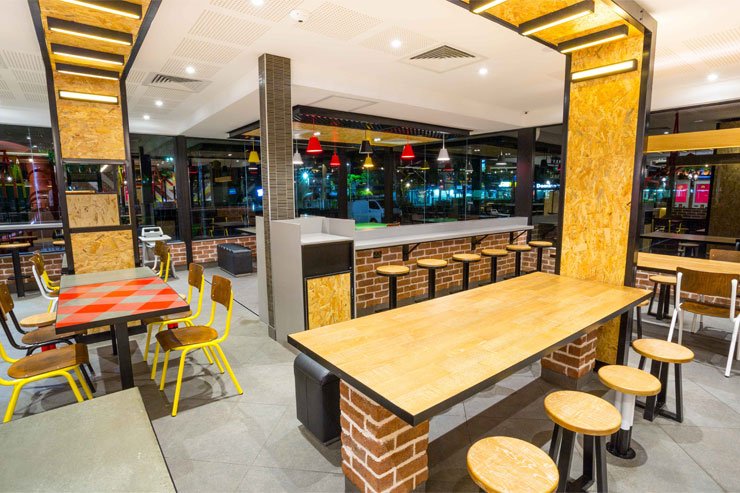 Mcdonalds Interior Design mcdonald's | mima