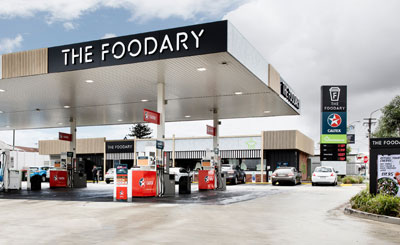 The Foodary, Caltex