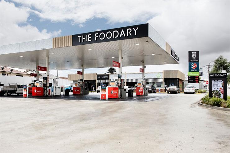 The Foodary, Caltex   Mima
